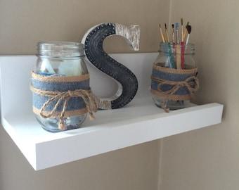 Handcrafted Floating Shelves