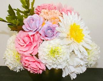DIY Paper Flower Bouquet Templates - Vogue
