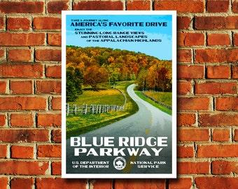 Blue Ridge Parkway Poster - #0543