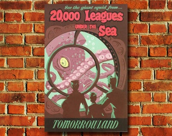 Disneyland 20,000 Leagues Under The Sea Poster - #0591