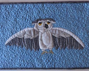 Owl Art Quilt