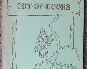 Vintage Girl Scout Cookbook ~ Cooking Out-of-Doors 1946