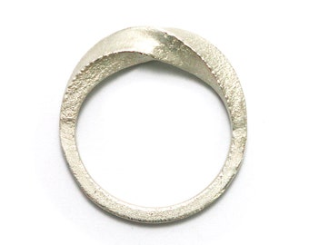Twisted Band 180 - Sterling Silver