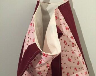 Summer floral bag