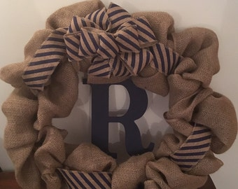 Large Personalized Wreath