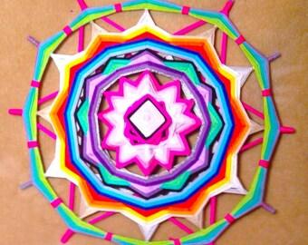 "Mandala Ojo de Dios ""Rebirth"""
