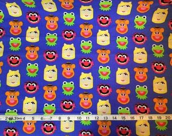 Muppets Emojiland Fabric 100% Cotton Fabric by the Yard
