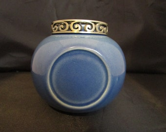 Noelle Ceramic Blue Incense Burner
