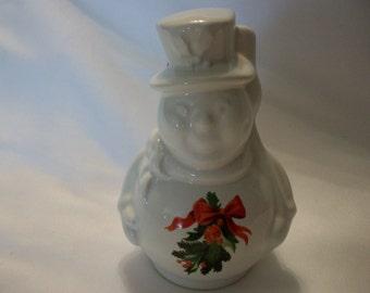 Pfaltzgraff 1995 Christmas Heritage Snowman Bell Ornament #012-491-00