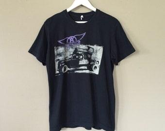 Aerosmith Band Tee / Rock Tee / Band T shirt / Band T-Shirt / Band Shirt / Nirvana Shirt / Band tshirt / Grunge Shirt / 90s Grunge shirt