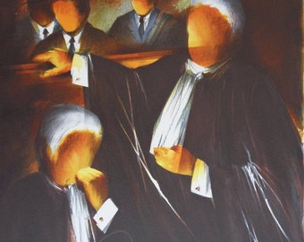 Raymond POULET: Craft - counsel, original lithograph