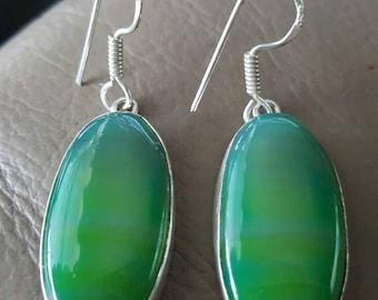 Green Onyx Earrings!