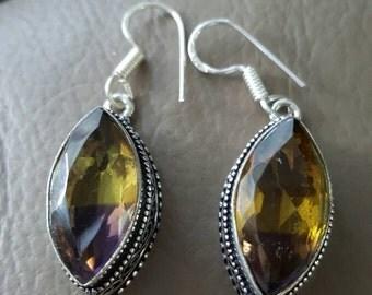 Ametrine Earrings !