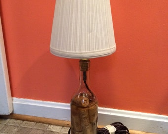 Wine cork lamp shade etsy for Wine cork lampshade