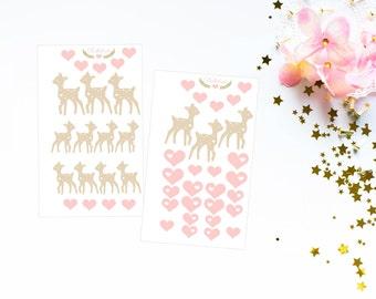 Baby deer sticker
