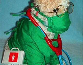 Doctor Dog Costume, Doctor Dog Halloween Costume Pet Doctor Halloween Costume, Doctor Pet Costume, Puppy Doctor Costume