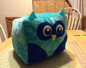 12 inch owl cube plushie