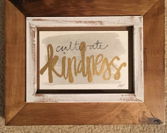 Cultivate Kindness Painting