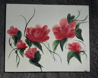 Floral mini panel