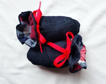Itty Bitty Baby Booties- The Alex