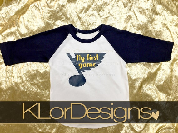 Items similar to St Louis Blues Baby Shirt Saint Louis