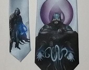 Jace Beleren Magic the Gathering Necktie