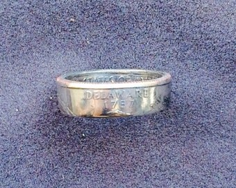 Delaware Coin Ring