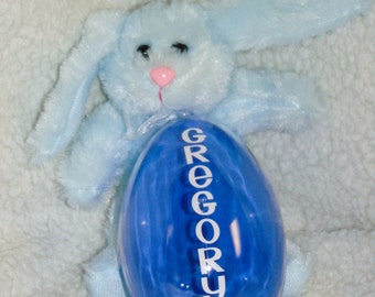Jumbo Easter Eggs.  Personalized & Fillable.  Great for Baskets, Egg Hunts and Gifts