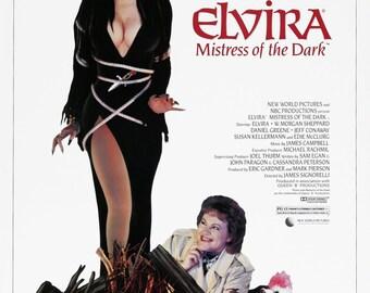 Elvira Misstress of the Dark movie poster 11x17
