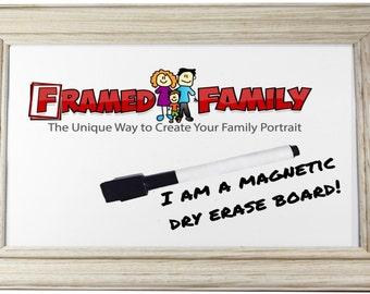 11x14 Magnetic Dry Erase Board - Traditional