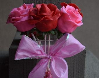 Chocolate Strawberry Roses