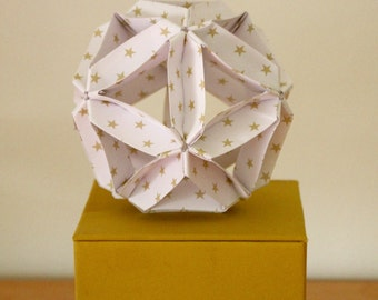 Origami paper ball - Little stars pattern