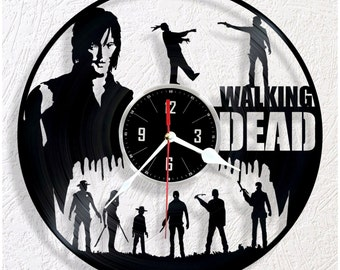 Vinyl wall clock Walking DEAD