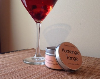 Pomango Tango Soy Candle, 4oz.