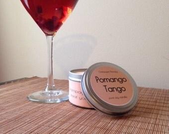 Pomango Tango Soy Candle, 8oz.