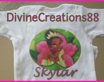 Princess Tiana custom shirt