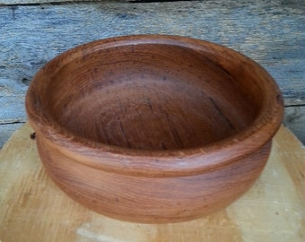 Beautiful Turned Wooden Bowl