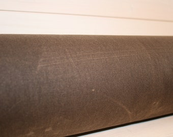 Dark Brown Waxed Canvas - #10 Duck Canvas - Free Shipping!