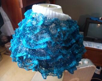 girls ruffled knit skirt