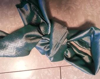 silk scarf hand made
