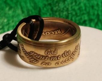 AA token ring size 14 1/4