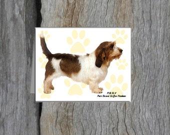 Petit Basset Griffon Vendeen Note Cards