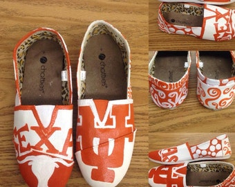 Texas Longhorns Painted Imitation Tom's