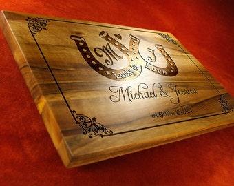 Wedding cutting board, Custom Cutting Board, Wedding Gift for couple, wedding cutting board, Engraved board, anniversary