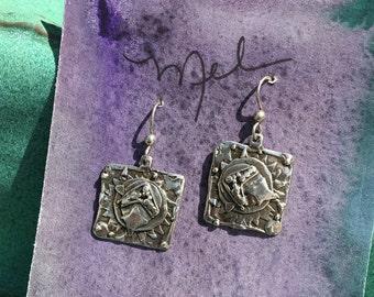Demeter Sterling Silver Earrings