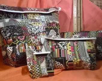 Duct tape bag set of Four