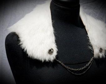 Faux Fur Necklace
