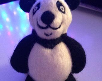 Needle Felted Small Panda