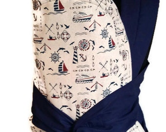 Mei Tai Carrier / Sling / with boats/ Reversible