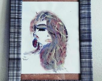 NOLAND Watercolor Print / Original Gouache Painting